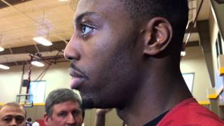 Melvin Ejim, Fred Hoiberg talk Bubu Palo after he's granted a stay