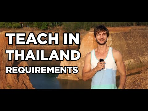 Teaching English in Thailand Requirements (+ The Big Decision You Need to Make RIGHT NOW)