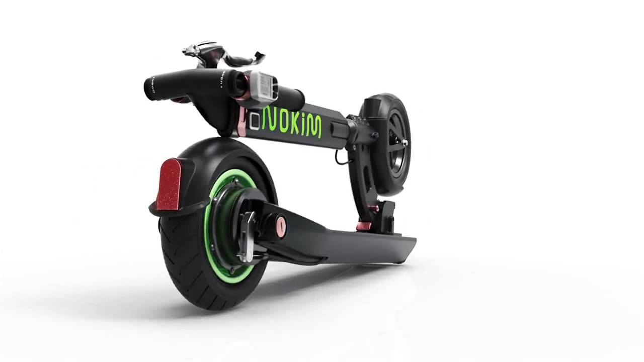 Inokim Light Electric Scooter Sleek And Bold With The