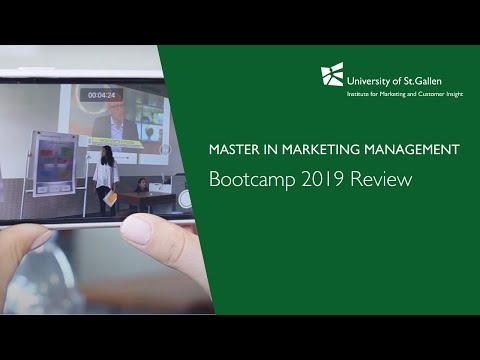 Introduction To The Master In Marketing Management
