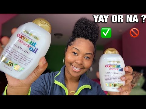 OGX Extra Strength Damage Remedy + Coconut Miracle Oil Shampoo Review