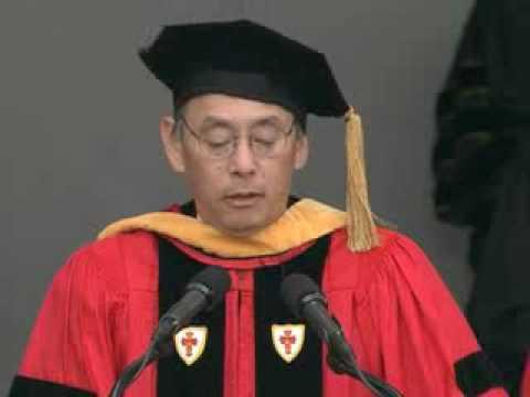 Steven Chu, 2007 Commencement Speaker