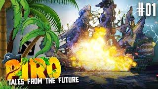 EXPLOSION auf HOHER SEE ★ #01 - Minecraft PIRO   Herr Bergmann