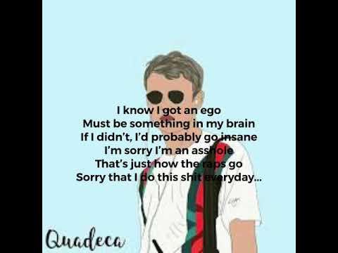 Quadeca - Ego Death (Lyrics)