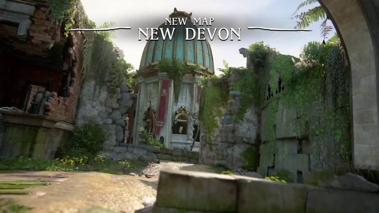 game map, new, Devon, uncharted 4
