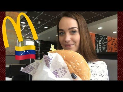 Visitando un McDonalds en Venezuela  | Gladys Seara
