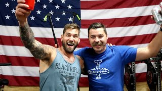 inside Mat Best.......'s house with @Black Rifle Coffee Company