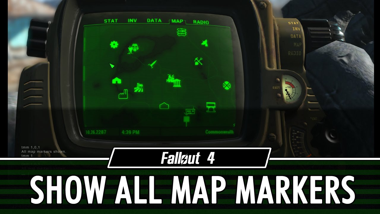 Fallout 4 toggle all map markers console command youtube fallout 4 toggle all map markers console command gumiabroncs Image collections