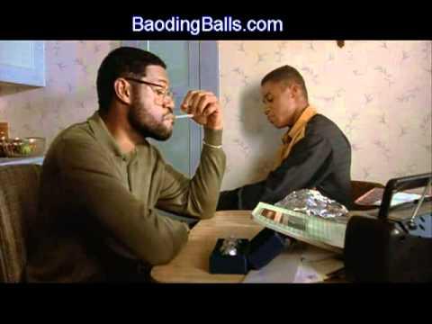 laurence fishburne uses baoding balls in boyz n the hood