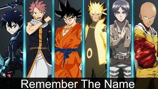 Anime Mix [ Amv ] Remember The Name