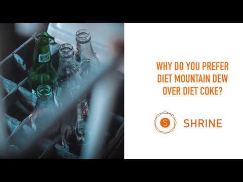 Shrine Development On Diet Mountain Dew