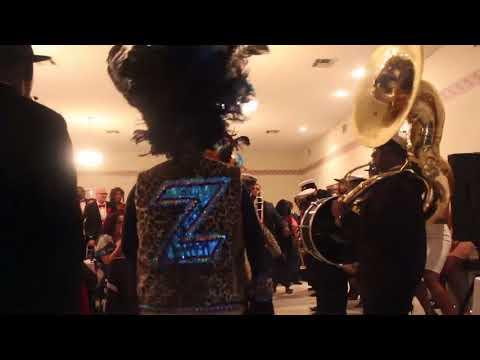 THE MAASAI KREWE 2018 ZULU PARTY MARDI GRAS NEW ORLEANS