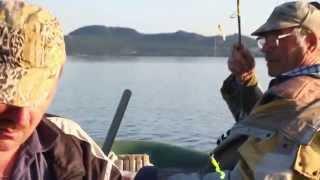 Рыбалка на озере Боровое Казахстан
