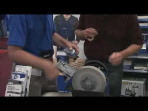 Tormek Drill Bit Sharpening Jig Presented by Woodcraft