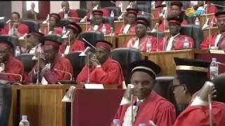 Umuhango wo gutangiza umwaka w'ubucamanza 2018-2019