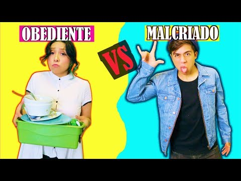 OBEDIENTE VS MALCRIADO | Palomitas Flow