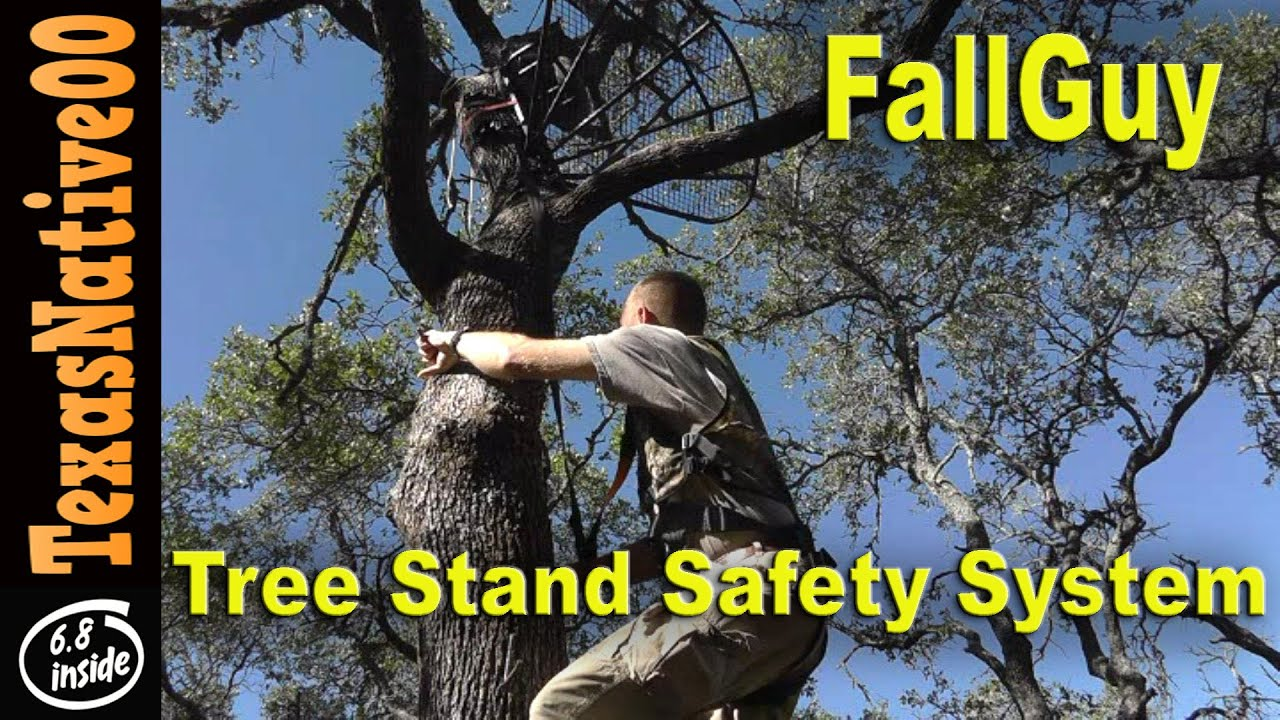 Fall Guy Tree Stand Safety System For Archery Amp Gun