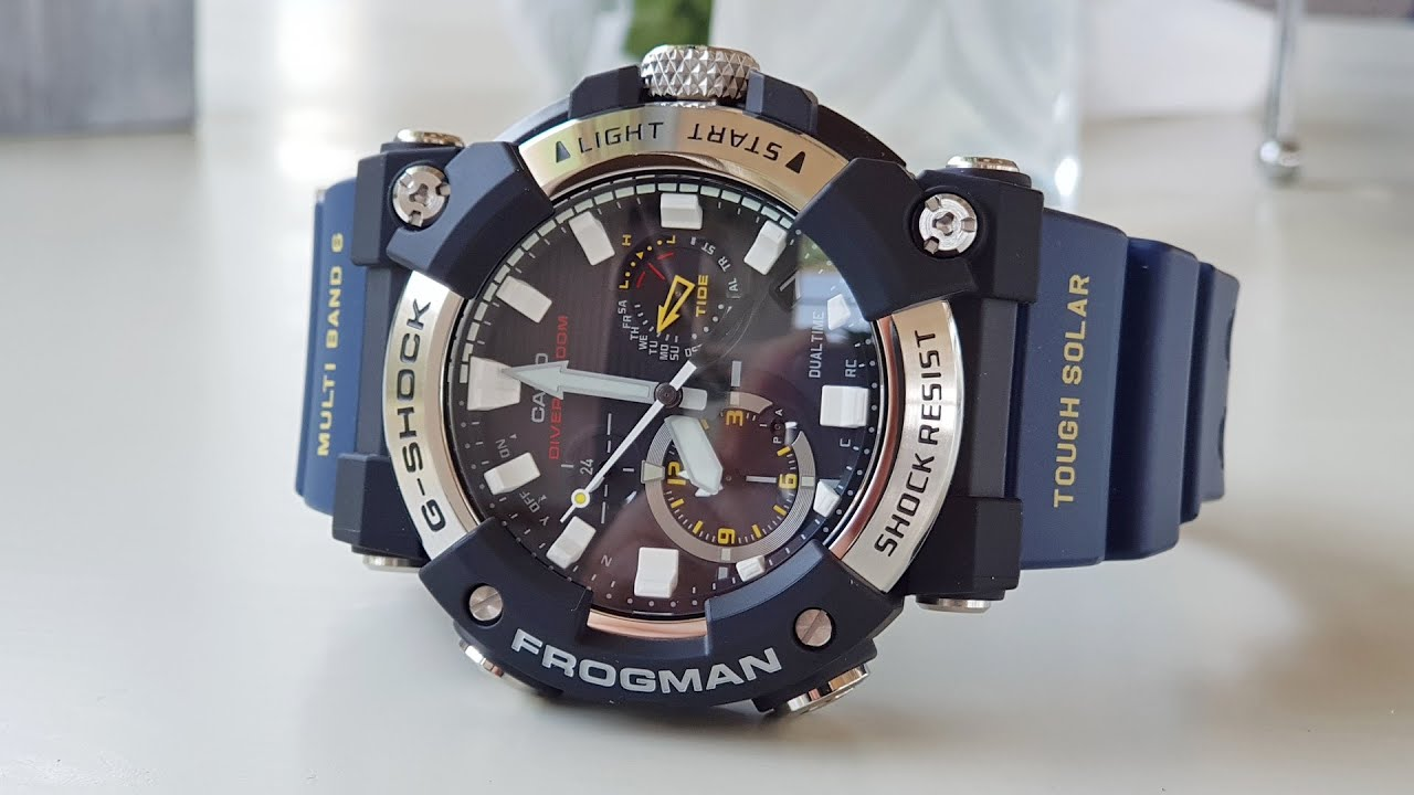 Casio G-Shock NEW FROGMAN GWF-A1000-1A2JF / Модель 2020 года