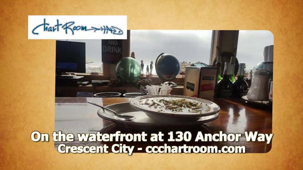 Dining Out In NorthWest - Chart Room - Crescent City, CA - YouTube