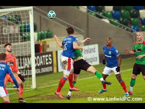Linfield Glentoran Goals And Highlights