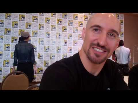 SDCC 2013: 'Teen Titans Go'  Scott Menville, voice of Robin