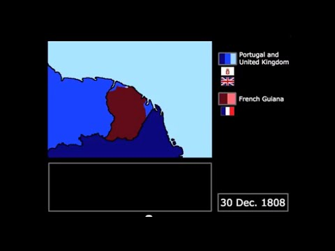 [Wars] Anglo-Portuguese Invasion of French Guiana (1808-1809): Every Day