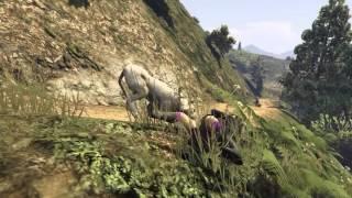 GTA 5 - Mountain Lion Attacks