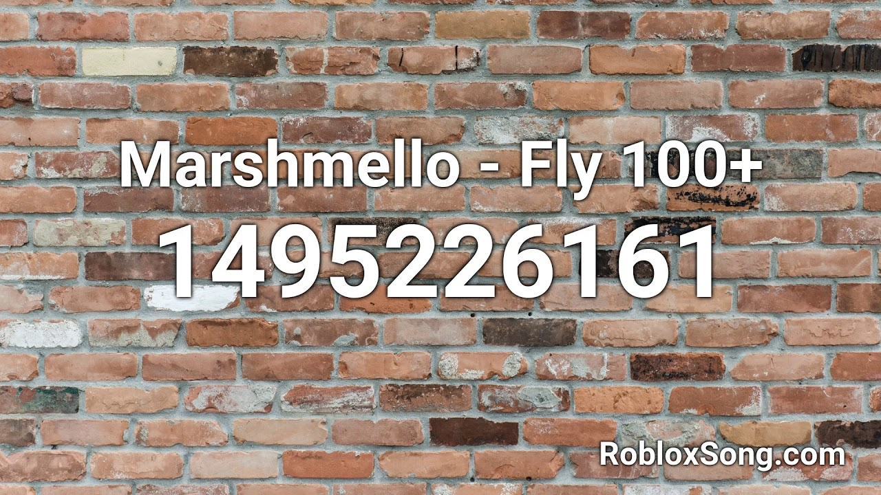fly marshmello roblox id
