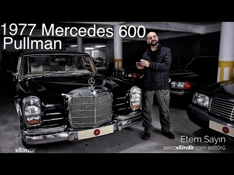 1977 Mercedes W100 600 Pullman Review - (with English subtitles)