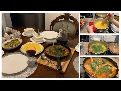 Готовлю из одной курицы/Молдавский ужин /Мотивация на готовку!!!