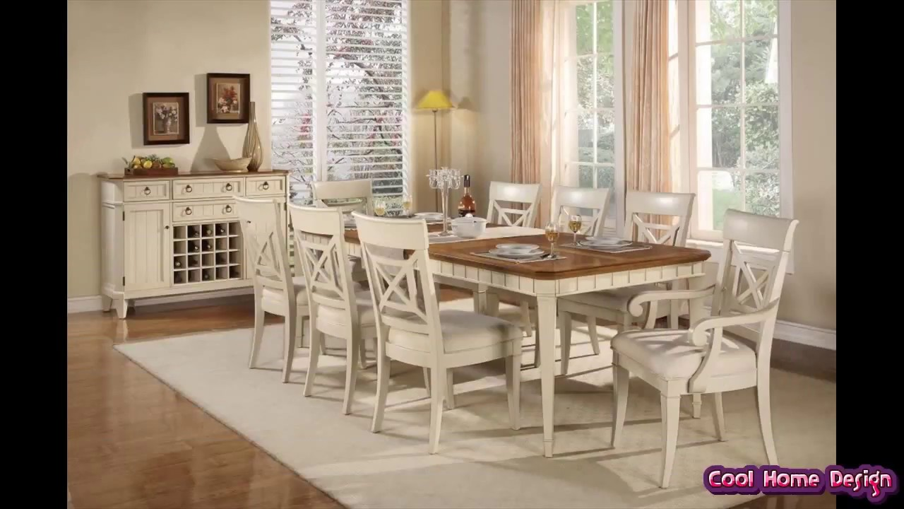 French Country Dining Room Table - YouTube