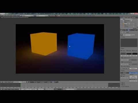 Blender tutorial: Make Object Emit Light (Blender Render)
