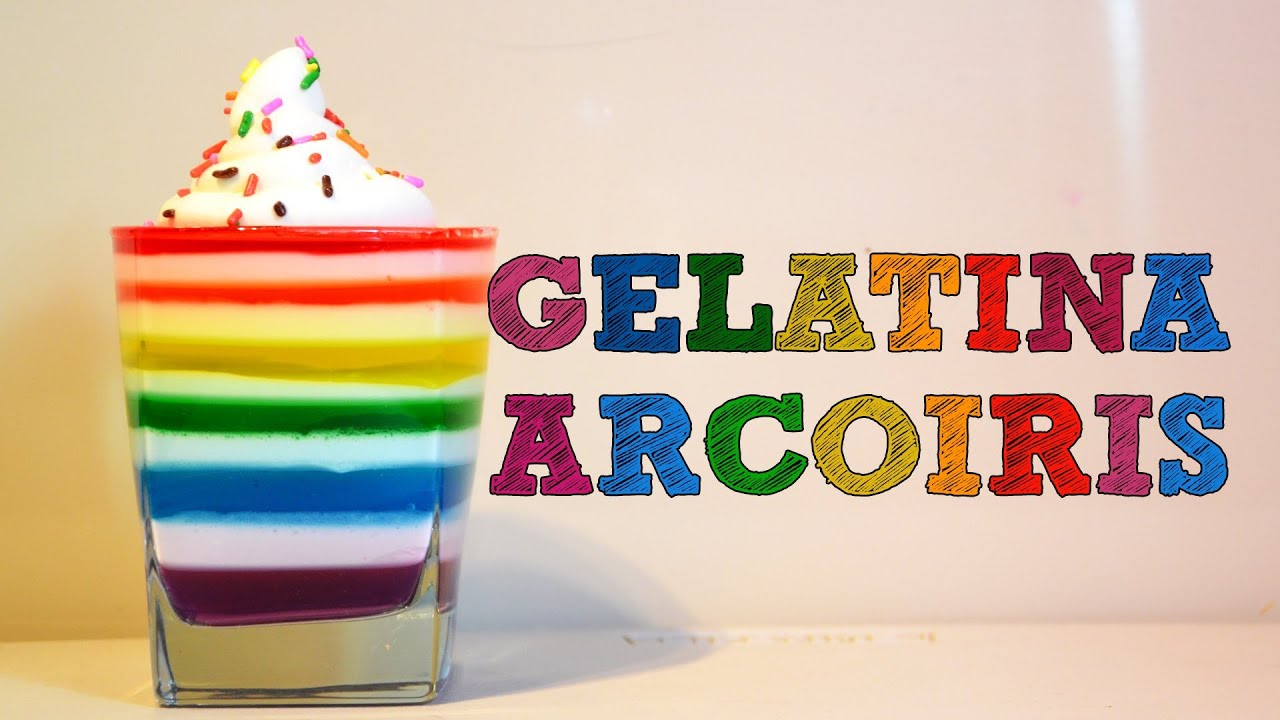 Gelatina arco ris recetas de cocina f ciles recetas de for Cocina facil y rapido de preparar