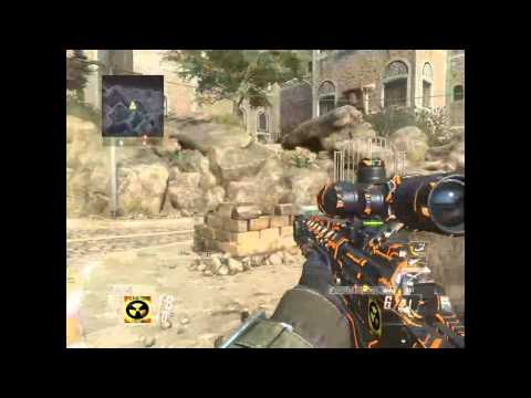 Black ops 2 quick scoping gameplay free for all on Yamen