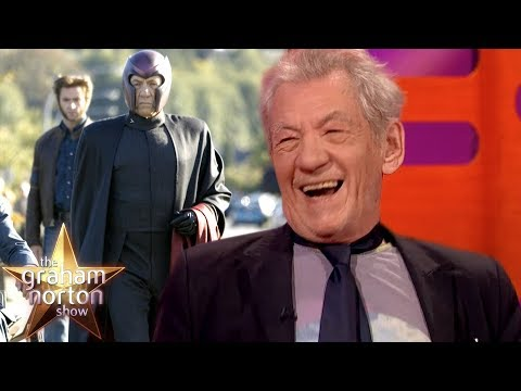 Sir Ian McKellen Still Wears Magneto's Bodysuit! | The Graham Norton Show