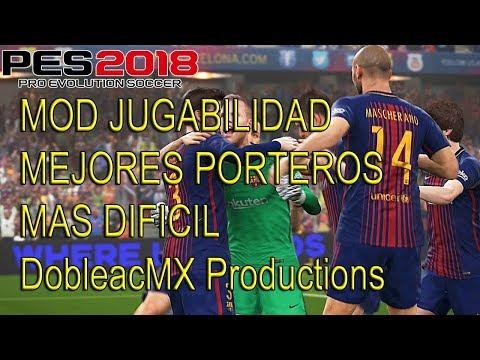 Mod Jugabilidad V3 PES 2018 PC Parecido a la demo online