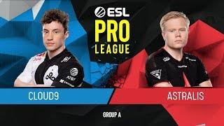 CS:GO - Astralis vs. Cloud9 [Inferno] Map 1 - Group A - ESL Pro League Season 9