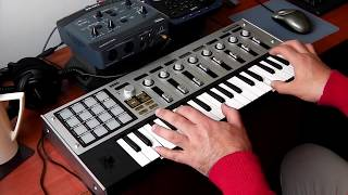 Korg MicroKontrol E-MU 0404 USB Superteclados.com chillout relaxed ambient music