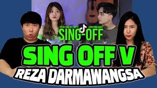 Reaction Keterampilan Menyanyi Mantap Sing Off Tiktok Songs Part V Vs Mirriam Eka Reza
