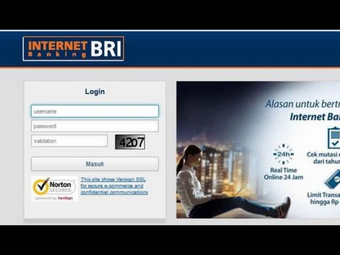 Cara transfer via Internet Banking Bri ke Bank Lain - YouTube