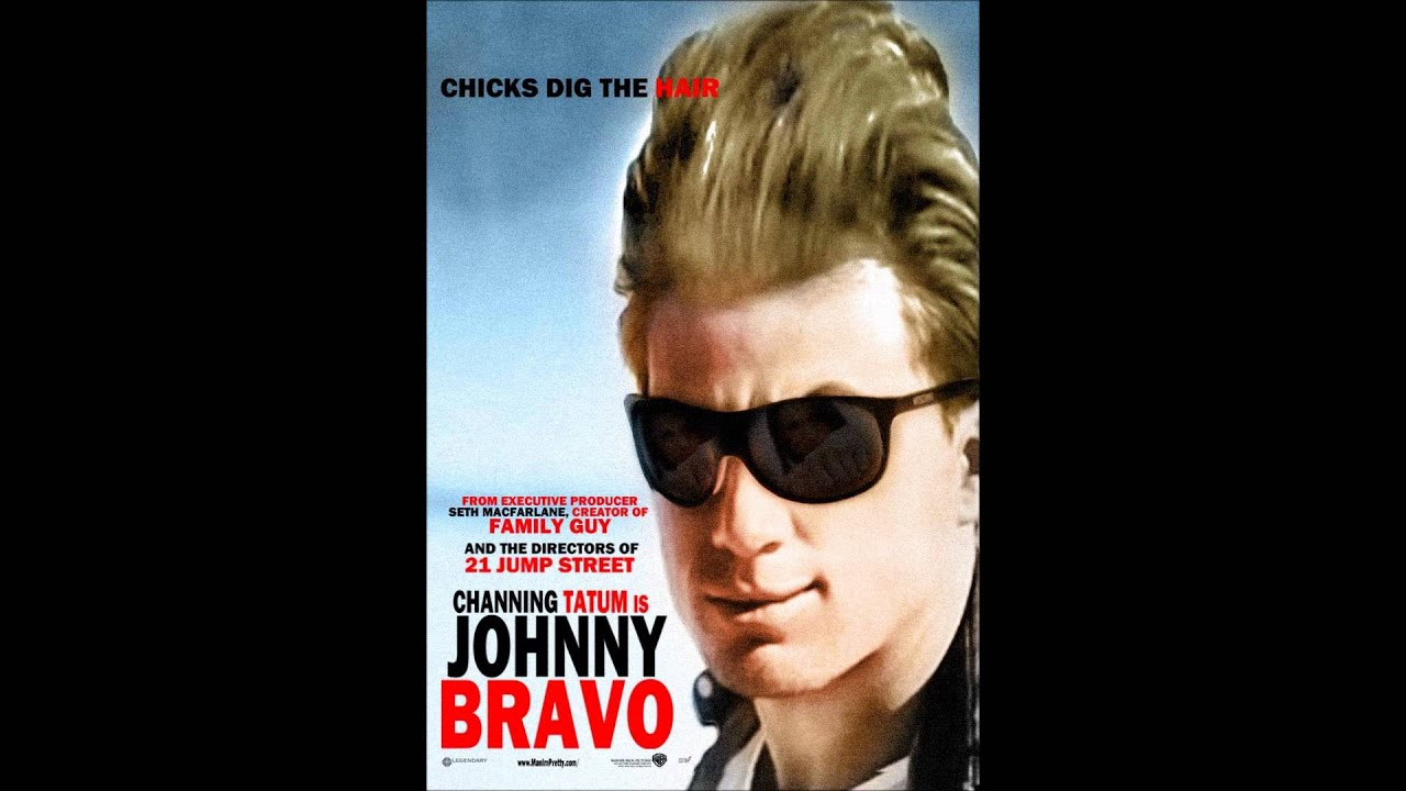 Johnny Bravo Live Action Movie Poster Youtube