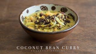 ココナッツと豆のカレー |Peaceful Cuisineさんのレシピ書き起こし