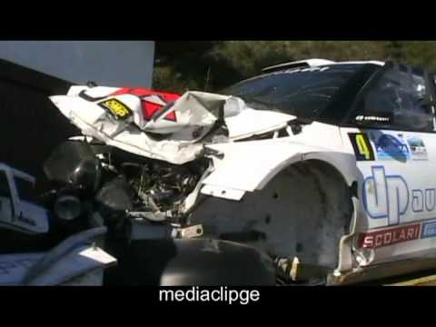 La macchina di robert kubica dopo l 39 incidente al rally di for Kubica cars