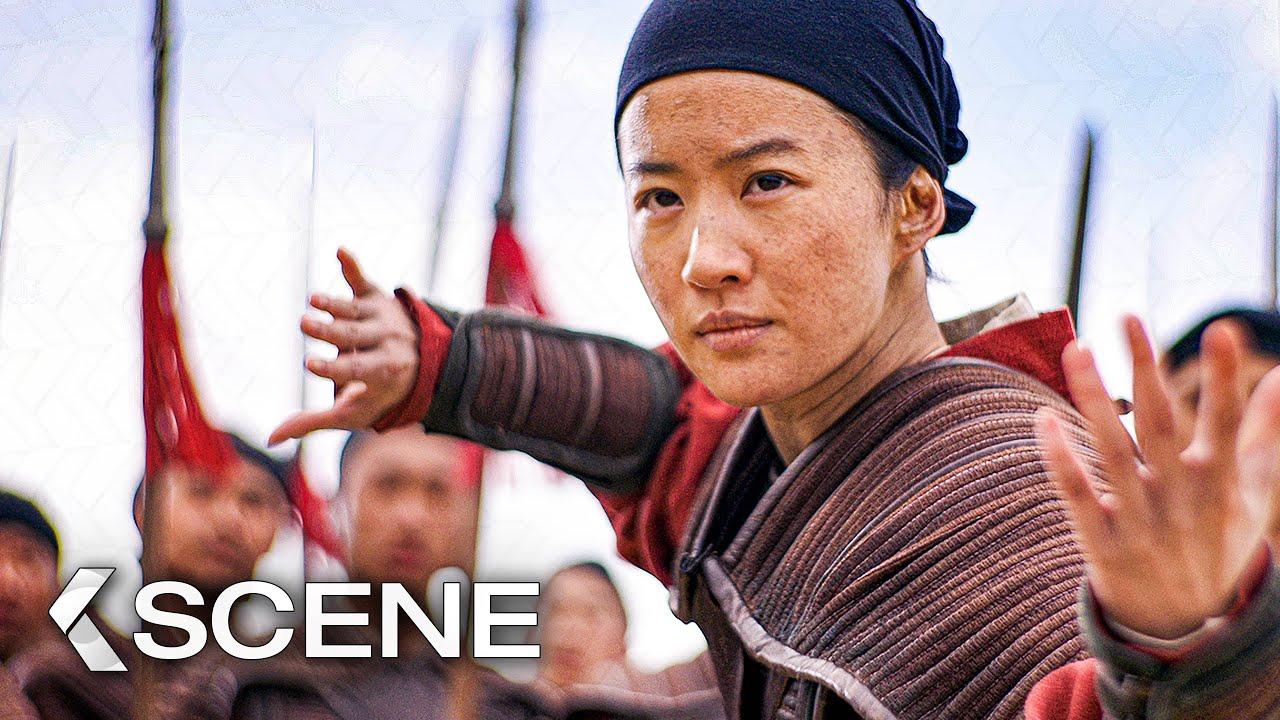 Mulan Fights Chen Honghui Extended Scene Mulan 2020 Youtube