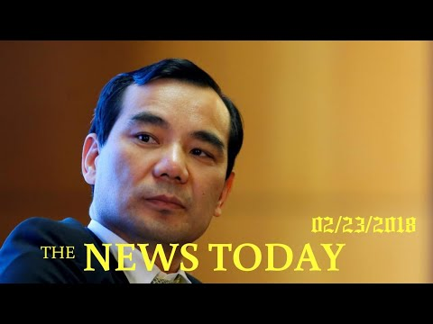 Regulator In China Seizes Control Of Anbang As Chairman Prosecuted | News Today | 02/23/2018 | ...