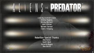Finis Omnium - Aliens vs Predator End Credits Theme