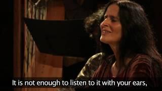 7th Misteria Paschalia Festival - interview with Montserrat Figueras