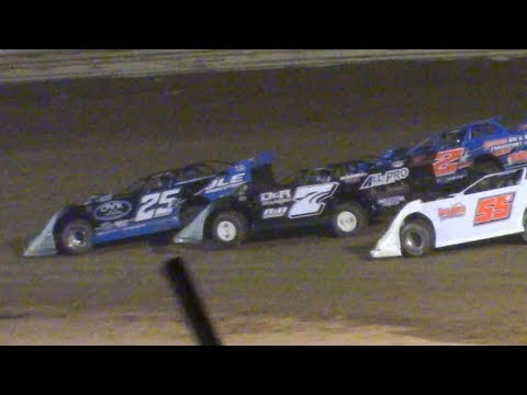 ULMS Super Late Model B-Main at Tyler County Speedway (Middlebourne, WV) on Saturday, June 1st, 2019! - dirt track racing video image