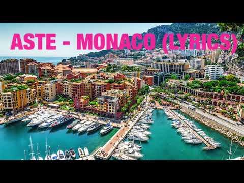 (LYRICS) Aste - Monaco
