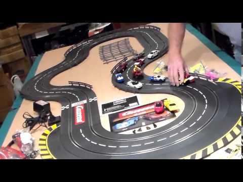 Carrera Slot Car Track, running 1/24 1/32 and 1/43